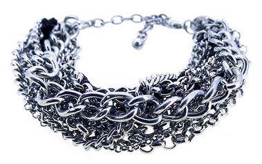 Propletený stříbrný náramek od Solv & Art