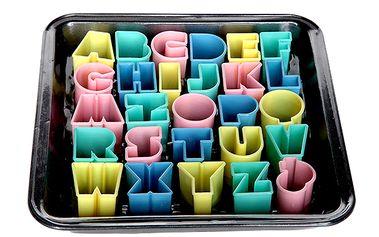 Set na pečení + vykrajovátka abeceda