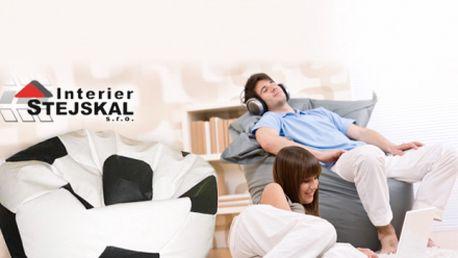 Komfortní SEDACÍ PYTLE již od skvělých 620 Kč! Stylový a velmi pohodlný vak, který se vždy přizpůsobí Vašemu tělu a Vy si jen budete užívat božský relax! Sleva až 50%!