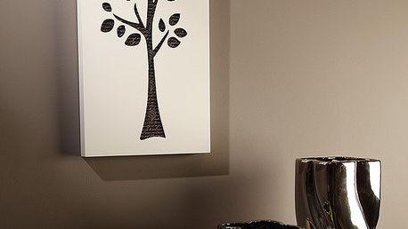 Nástěnná dekorace C-tru B&W Tree I