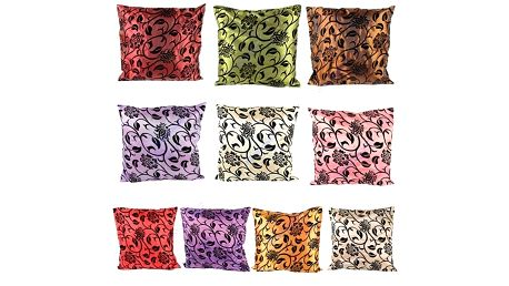 Povlak na polštářek s květinovým motivem - více barev a poštovné ZDARMA! - 3206063
