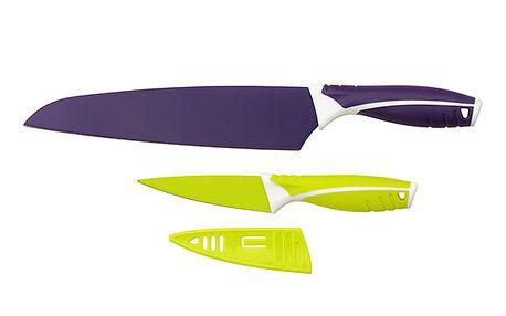 Barevná sada kuchyňských nožů - 2 ks