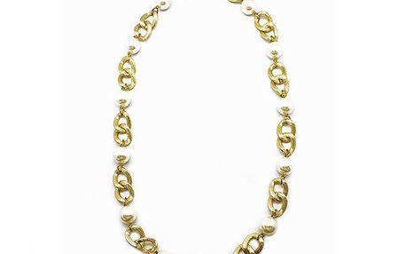 Zlatý řetízek s perličkami