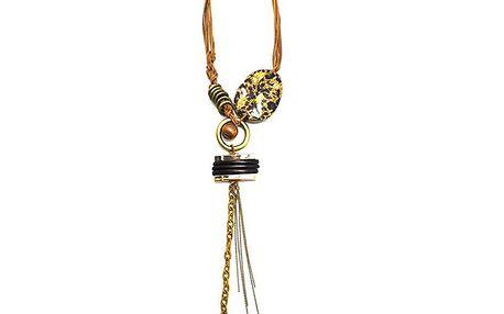 Safari náhrdelník s přívěskem