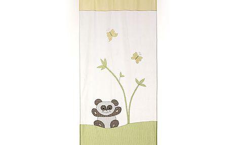 Dekorační záclona/závěs panda
