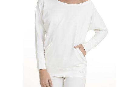 Dámská krémově bílé pyžamo QBO