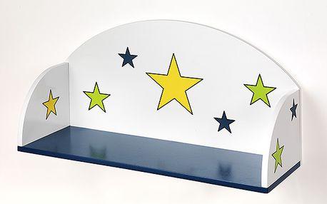Polička hvězdy pro chlapce