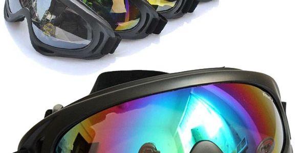 Univerzální sportovní brýle - 4 barvy skla a poštovné ZDARMA! - 3107537