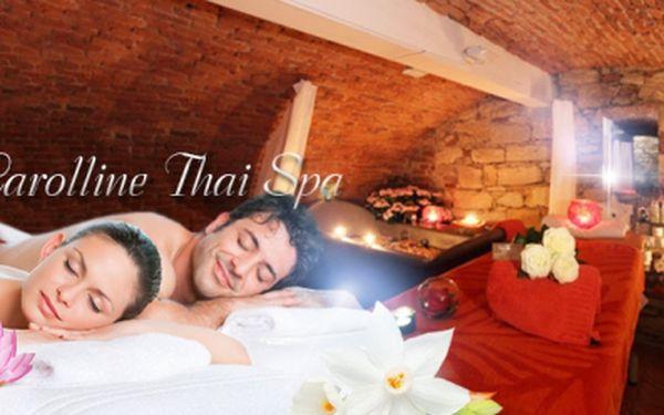 THAJSKÉ a BALI MASÁŽE v luxusním Carolline Thai Spa přímo v historické části Prahy 1! Tradiční HODINOVÁ masáž od zkušené thajské masérky jen za 399 Kč nebo Valentýnský balíček s Jacuzzi lázní a masáží PRO DVA jen za 1399 Kč!