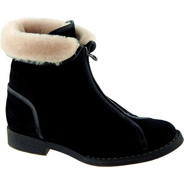 Dámské černé boty na zip Betsy