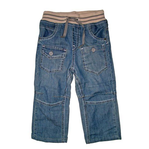 Krásné klučičí džíny v pase na šňůrku