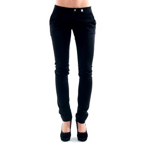 Dámské černé úzké kalhoty Amy Gee