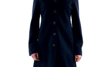 Dámský modrý jednořadý kabát Amy Gee