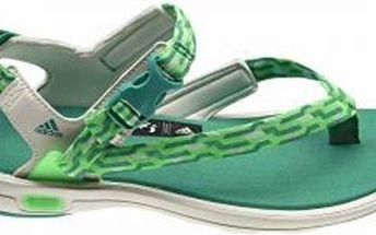 adidas LIBRIA SANDAL zelená/křídová/zelená EUR 39 1/3 (6 UK women)