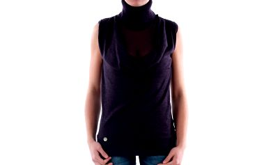 Dámský fialový rolák bez rukávů Amy Gee