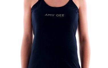Dámské tmavě modré tílko na úzká ramínka Amy Gee