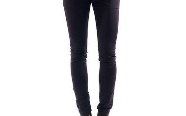 Dámské tmavě fialové kalhoty Amy Gee