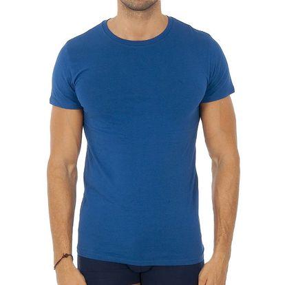 Pánské blankytně modré tričko Ralph Lauren