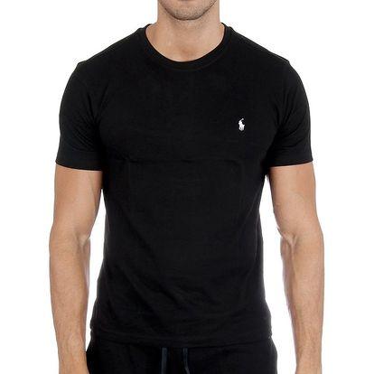 Pánské černé tričko Polo Ralph Lauren