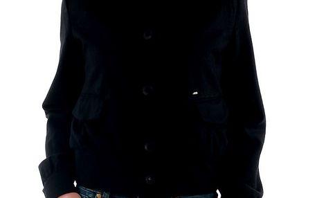 Dámská krátká černá bunda Amy Gee