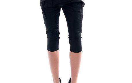 Dámské černé 3/4 kalhoty Amy Gee
