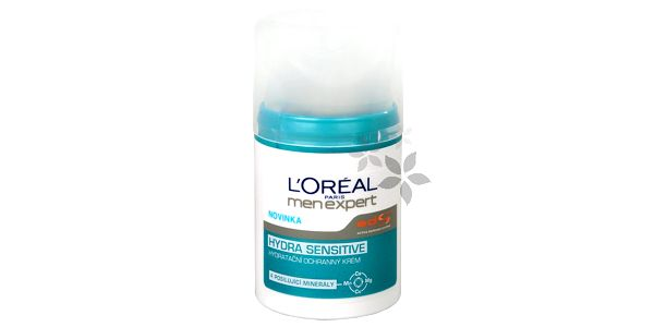 Loreal Paris Pleťový krém pro muže Hydra Sensitive (Men Expert) 50 ml