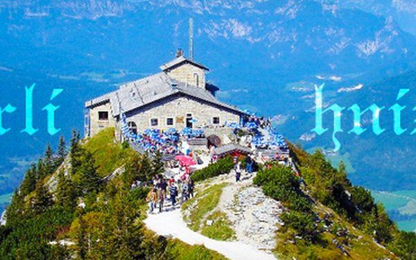 Sobotní zájezd: Hitlerovo Orlí hnízdo, Berchtesgaden, jezero Königsee