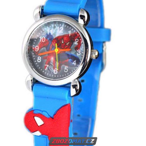 Klučičí hodinky Spiderman pro malé hrdiny!