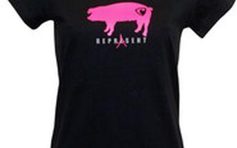Černé dámské tričko Represent