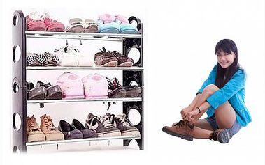 Velmi lehký a přenosný botník k uložení bot. S tímto botníkem budete mít boty pro jednou uklizeny.