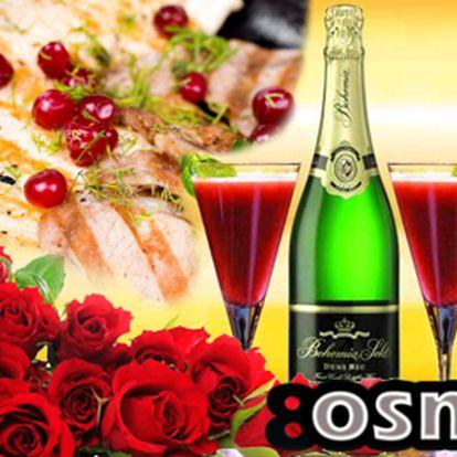 Valentýnské menu PRO DVA za 420 Kč v ostravské restauraci 8OSMA!
