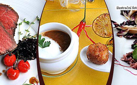 Degustační menu Amuse-bouche o 5 chodech