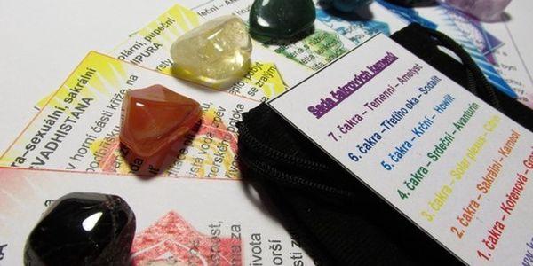 Čakrová léčivá sada - vč. drahých kamenů za 149,-!