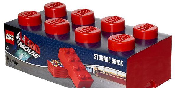 Úložný box Movie Lego, červený