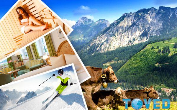 Dovolená v Alpách – 3 dny pro dva se snídaní a wellness