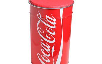 Odpadkový koš a sedátko Coca Cola - originální doplněk nejen dětského pokoje