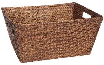 Ratanový košík (41x30 cm)
