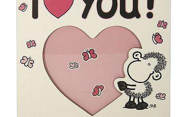 Fotorámeček Sheepworld Fotorámeček LOVE, Sheepworld