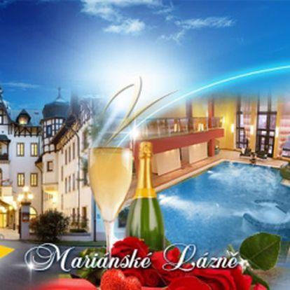 Luxusní OREA Hotel Monty**** Mariánské Lázně! TŘI dny s bohatou POLOPENZÍ, romantická večeře, společná aroma KOUPEL se sklenkou sektu a vstup do hotelového BAZÉNU se slanou vodou! To vše jen za 2250 Kč na osobu! Sleva 52%!