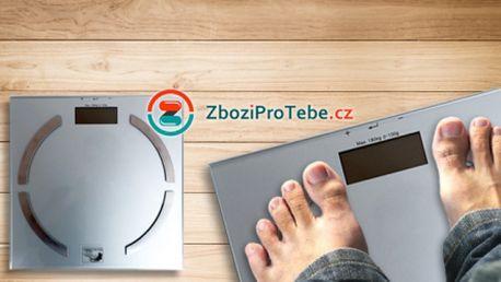 Inteligentní OSOBNÍ VÁHA s měřením svalové hmoty, tuků a vody v těle, za pouhých 499 Kč VČETNĚ POŠTOVNÉHO! Obsahuje vnitřní paměť až pro 10 osob, pomůže Vám zhubnout a dát se po Vánocích do formy!