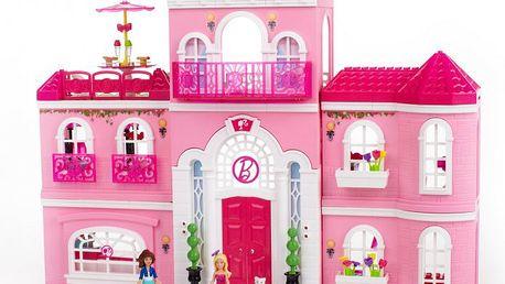 MEGABLOKS Micro - Barbie v luxusním domě