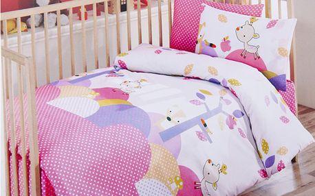 Set na spaní s přikrývkou zvířátka