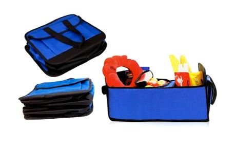 Vynikající pomocník, který se hodí do každého auta, bytu, kanceláře atd.. Pořiďte si praktický organizér a včetně chladící tašky, vhodnou např. na uchovávání potravin.