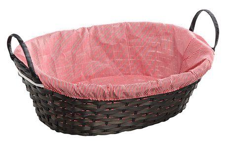 Bambusový košík s držadly
