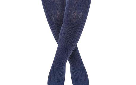 Tmavě modré punčocháče