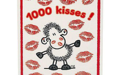 Poznámkový blok Sheepworld Poznámkový blok Kisses, Sheepworld