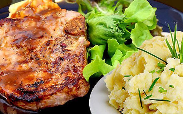 Skvělé dřevorubecké steaky pro dva