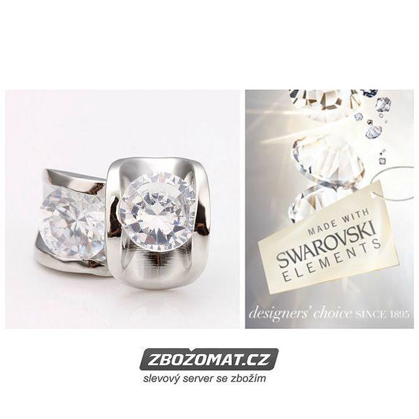 Náušnice Elegance Swarovski elements - elegantní pecky!