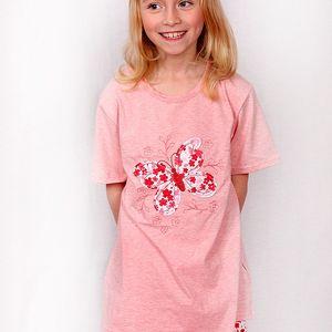 Letní dívčí pyžamo Butterflies1