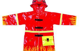Originální pláštěnka hasiči